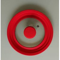 multi silicone glass lid