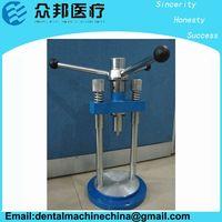 Dental Press for valplast injection system