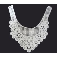 polyester chemical neck collar lace for lady cloth