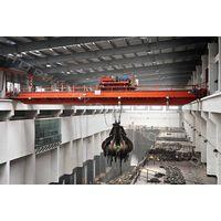 Hydraulic waste grab overhead crane thumbnail image
