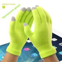 Men Women winter Warm christmas Glove Gift Colorful Winter Warm Touch Glove Cotton Capacitive Screen thumbnail image