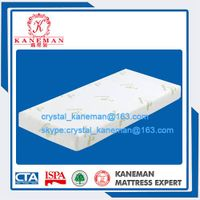 Bamboo fabric gel memory foam mattress