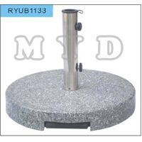 45kgs grey granite umbrella base