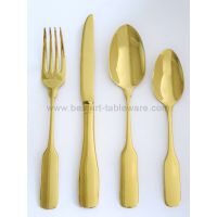 New product stainless steel silver and gold cutlery set thumbnail image