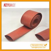 GWIT Fiberglass Sleeving With Silicone Coating/High Temperature Silicone Resin Fiberglass Sleeve