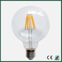 8W E27 LED filament light G125 with CE & ROHS approval