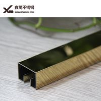 stainless steel ceramic tile corner trim decorative metal strip