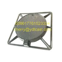 manhole cover and frame heavy medium 600x600mm