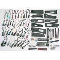 zipper accessories,button,cuff button,labels, Injection zipper pullers,metal Zipper Sliders&#