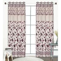 Tanyugg JUTE LEAF Window/Door/Long Door curtain