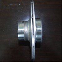 stainless steel impeller with the diameter of 168mm