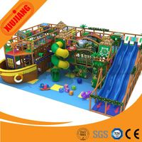 Free design naughty children play house inflatable indoor playground with slide