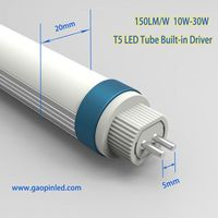 Internal driver T5 tube 150lm/w high lumens T5 replace T6 tube