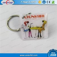 50*50 mm 125KHz EM4100/4200 Epoxy tags with Metal Ring
