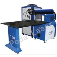 Word Advertisement Laser Welding Machine PD-AW300T-2/AW500T-2