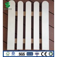 Eco-Friendly Wood Plastic Composite Fence and Railing WPC Garden Fencing