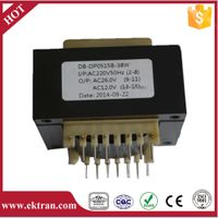 EI mini electronic AC transformer 6V 9V 12V PCB mount