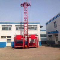 SS100/100 High Quality Construction Building Hoist
