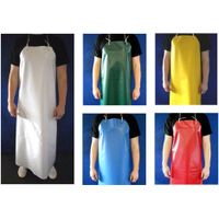 Anti cut soft PVC apron PVC veterinary apron