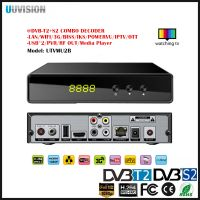 UUvision HD DVB-T2+S2 COMBO DECODER Support powerVU TV3 biss 3Gwifi CA IKS CCCAM IKS Youtube
