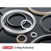 PTFE Spring Energized Seal for -196 Working Condition