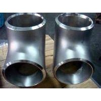 ANSI B16.9 steel pipeline fittings 3 way tee made in China