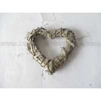 heart shape wall hanging willow decoration product