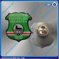 Epoxy Coated Stainless Steel Lapel Pin