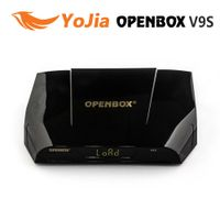 Genuine OPENBOX V9S  DVB-S2 HD Satellite Receiver Support USB Port WEB TV USB Wifi Build in CCCAMD N