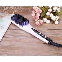 2016 New Fashion MCH heater Tourmaline ceramic hair straightener brush with anion spray
