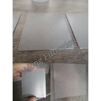 Corrosion resistant and clean type sintered porous stainless steel fluidized plate filter plate thumbnail image