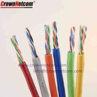 Cat5e UTP Cables 24AWG Copper Network Cable