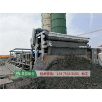What do we use sludge dewatering machine for dewatering slurry from subway and tunnel construction