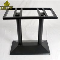 Antique cast iron table base for granite marble patio table with low price