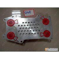 D6E oil cooler core for excavator engine parts thumbnail image