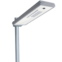 Solar LED Street Lights 15W - 1800LM Integraded LED Street Lights with Smart Control and Motion Sens thumbnail image