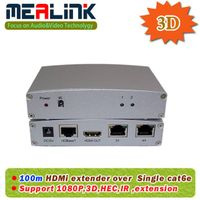 100m HDMI Extender Over Single Cat6e Cable, HDMI 1.4V, with 3D, IR, HEC (HDT001) thumbnail image