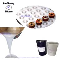FDA rtv2 liquid silicone for chocolate molds making