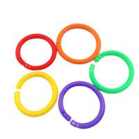 School book binding book ring plastic binder clips open O rings thumbnail image