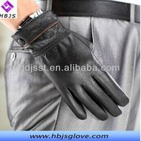 men's good quality leather gloves with factory in china