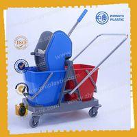 ZY-403 40L Mop Bucket Trolley, Mop wringer bucket thumbnail image
