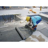 Pre-applied self-adhesive bitumen waterproofing membrane roofing sheets