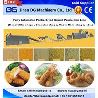 Fried wheat flour based breadcrumb pellet/flake making machine production line