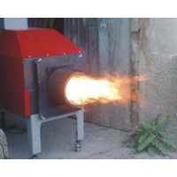 Split Biomass Burner