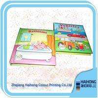 Child hardcover cardboard book printing OEM supplier