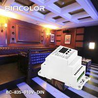 DMX512 to 0-10V converter BC-835-010V-DIN