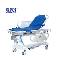 JH-OCT103 Luxious riseand fall stretcher cart