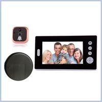 Home Security Remote Unlock 2.4GHz Video Digital Door Eye Peephole Viewer Camera
