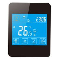 Fan Coil Cooling Room Thermostat IPhone Style Touch Screen Fan Coil Cooling Room Thermostat BACED928