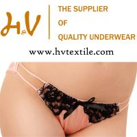 ladies luxury lingerie underwear manufactory from China factory price